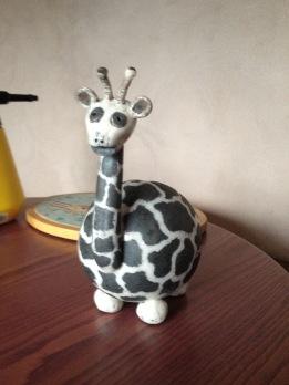 girafe en raku