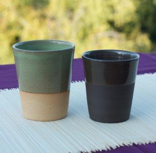 tasses en gobelet