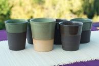 tasses en forme gobelet