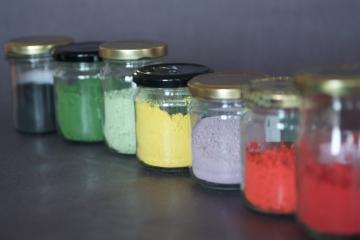 les pigments pour émaux et engobes